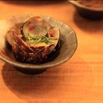 まんまるや - 熱々のアサリの酒蒸し,美味しいヨ。