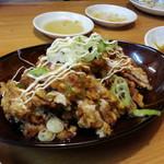 中華料理 萬来 - 油淋鶏 780円