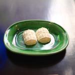 遊形 サロン・ド・テ - 俵型のお干菓子