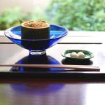 遊形 サロン・ド・テ - 「俵屋わらび餅と抹茶」
