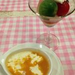 テリーヌ食堂 - スープとサラダ