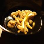 千翠 - 雲仙なめこの揚げ出し 椎茸風味のお出汁で