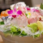 プラチナフィッシュ KAPPO  - お刺身大漁バケツ盛り