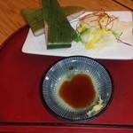 59719057 - 特製ます寿司二切れ2016.11