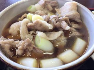藤店うどん 川越店 - 肉汁うどんの汁
