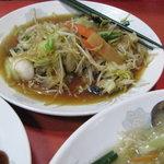 中華食堂チャオチャオ - 皿うどん 600円