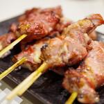 やきとり よっちゃん - 料理写真:カシラ・タン・ハツ(塩)