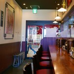 ラーメン横綱 桂麺房 - カウンター席