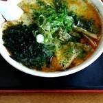 中華そば さたけ - 料理写真:みそチューシュー950円。
