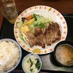 和光食堂 - ご飯、多いです。男性はちょうどいいかな?