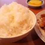 蒜山食堂 - 2016年12月 盛りの良いご飯