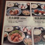 toukyousakebaruambai - 煮魚御膳にしました!