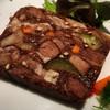 米沢牛と牛タンの赤ワイン煮込みの冷製 ラヴィゴット風