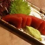 沖縄美ら海マグロの刺身