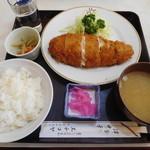 エチゴヤ - ポテトサラダ入りとんかつ ¥720-