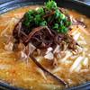 麺家 九十九 - 料理写真:魚だし味噌。おすすめNO1はコチラ。本格濃厚味噌ラーメンで旨いね! 欠点は唯一、スープと絡まない麺かな。細麺を選べるとありがたいかも