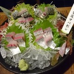 九州 熱中屋 - 豊後鯖刺し半身 1,480円
