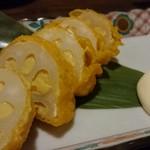 九州 熱中屋 - 手作り辛子レンコン 520円