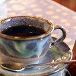 カフェピボディ - コーヒー。2010年12月撮影。