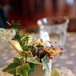 カフェピボディ - テーブル。2010年12月撮影。