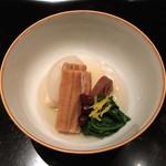 御料理 堀川 - 炊合:いとこ煮