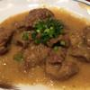 馬タン牛タン - 料理写真:白味噌の馬ホルモン煮込み