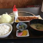 とんかつのゆき藤 - ロースとんかつほた(1,370円)