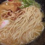 らぁめん in EZO - 知床豚肉盛り濃厚味噌 850円