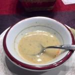 トルコ料理 アセナ - ひよこ豆のスープ