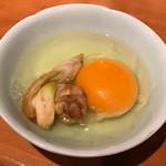 さなみ - すき焼きなんで、生卵で