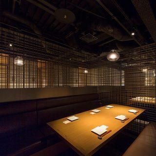 ◆お洒落なデザイナーズ空間♪横浜を一望出来る完全個室◆