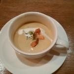 Kaferesutorankomodo - シェフコース・スープ