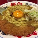 らー麺や - カツカレーラーメン☆。.:*・゜