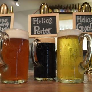常時30種以上のクラフトビールをご用意(飲み放題コースあり)