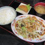 麺や美好 - 料理写真:野菜炒めライス(2016/12/06撮影)