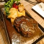 THE MEAT ANGUS - アンガス牛100%ハンバーグ(180g)