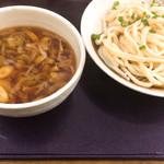 竹國 - ねぎ汁うどん  並盛り  650円