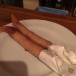 ビールのヨコタ - チョリソの春巻き(250円)