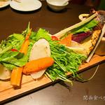 カジュアルレストランGoji-Goji - 戦艦ヤマト風なバーニャカウダー