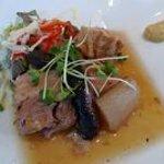 5974442 - 地鶏・メキシコポートなど、お肉と根菜のコンソメ・ブレゼ