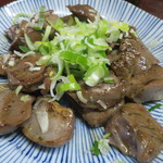 米山 - ハツ炒め