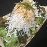 2色大根のさっぱり梅サラダ