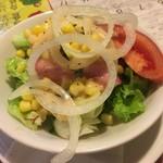 チロル - セットのサラダ
