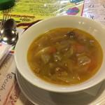 チロル - セットのスープ