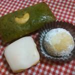 ケーキ工房七つの水仙 - ほうれんそうのフィナンシェ、世田谷みやげ(レモンケーキとロシアンクッキー)