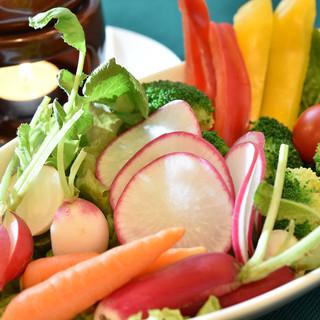 生でも美味しい産直有機野菜!食べ方はその場で相談して下さい!