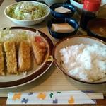 きし美 - とんかつ定食(ご飯・普通)