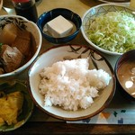 きし美 - ぶり大根定食(ご飯・小)