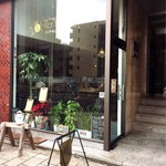 ロングウォーク コーヒー - 入口