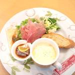 カジュアル・ダイニング・ミラノ - 料理写真:ランチの前菜盛り合わせ '16 11月下旬